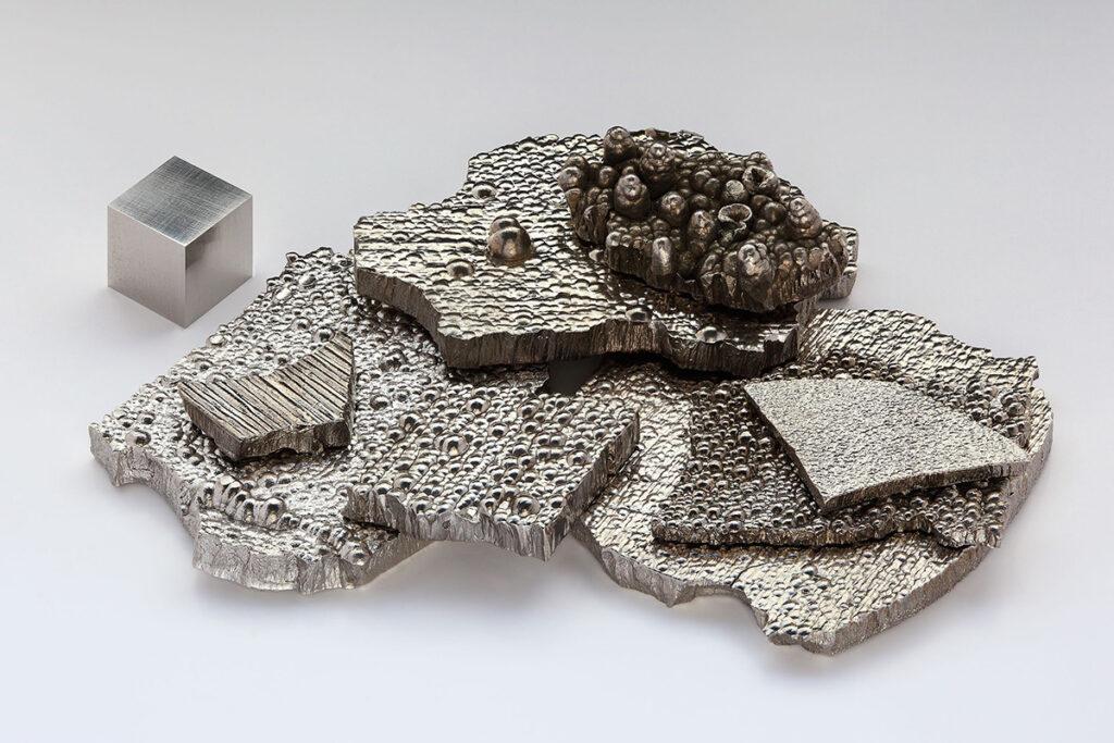 Kobolt används i koboltbatterier. Foto: Alchemist HP. Licens: Free Art License 1.3, Wikimedia