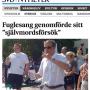 Christer Fuglesang självmordsförsök