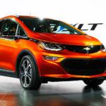 Chevrolet Bolt, elbil - Mikael Höglind blogg